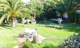 Investment villa for sale on sea side in Marbella East 2