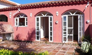 Investment villa for sale on sea side in Marbella East 7