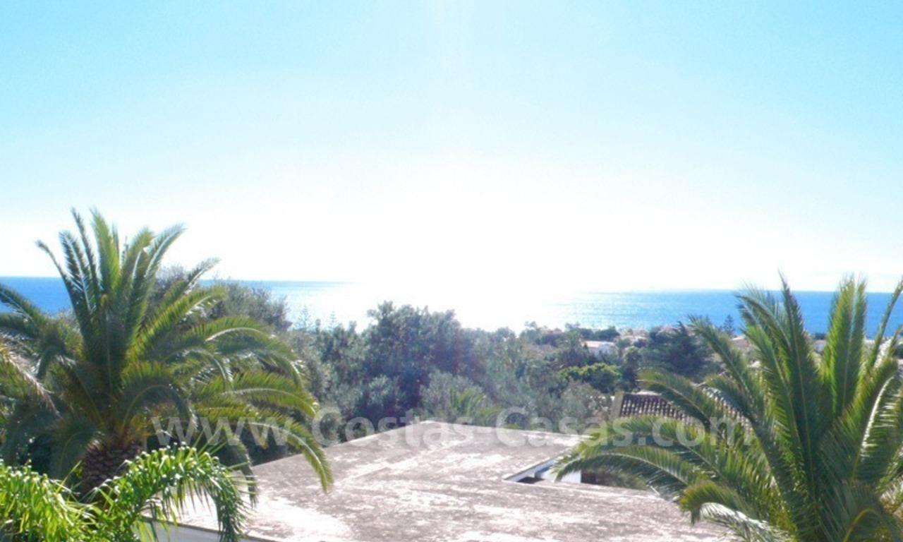Investment villa for sale on sea side in Marbella East 1