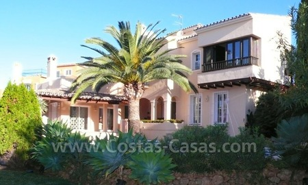 Luxury villa to buy in beach area in Eastern Marbella