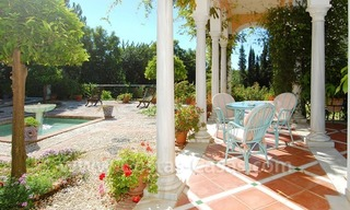 Romantic villa for sale above the Golden Mile in Marbella 1
