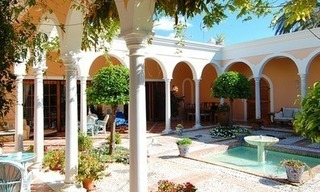 Romantic villa for sale above the Golden Mile in Marbella 8