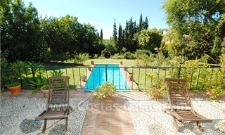 Romantic villa for sale above the Golden Mile in Marbella 13