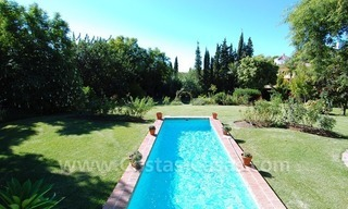 Romantic villa for sale above the Golden Mile in Marbella 14