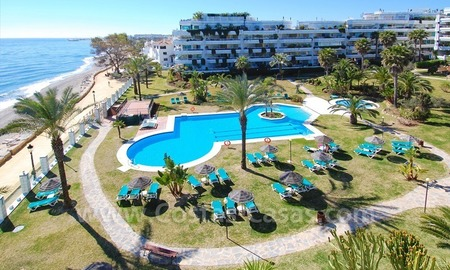 Beachfront contemporary apartment for sale, Golden Mile, Marbella 0