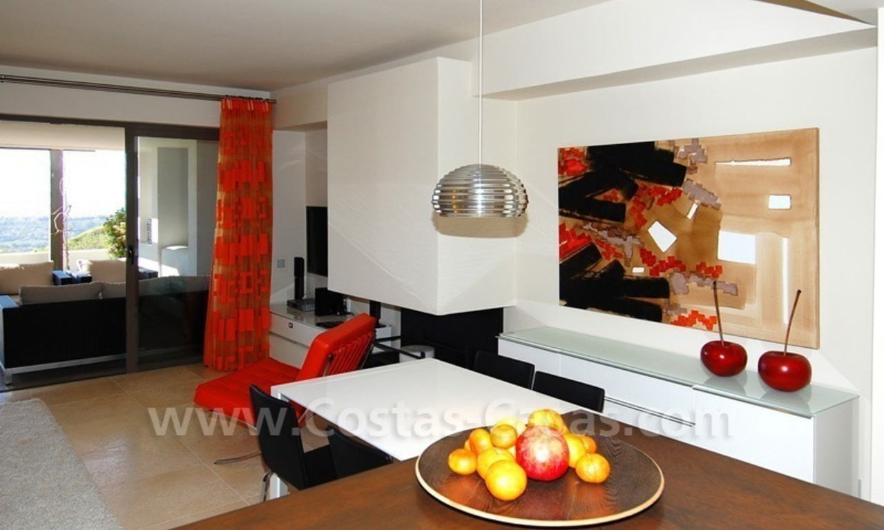 Bargain! Modern style luxury apartment for sale, golf resort, Marbella - Benahavis 18
