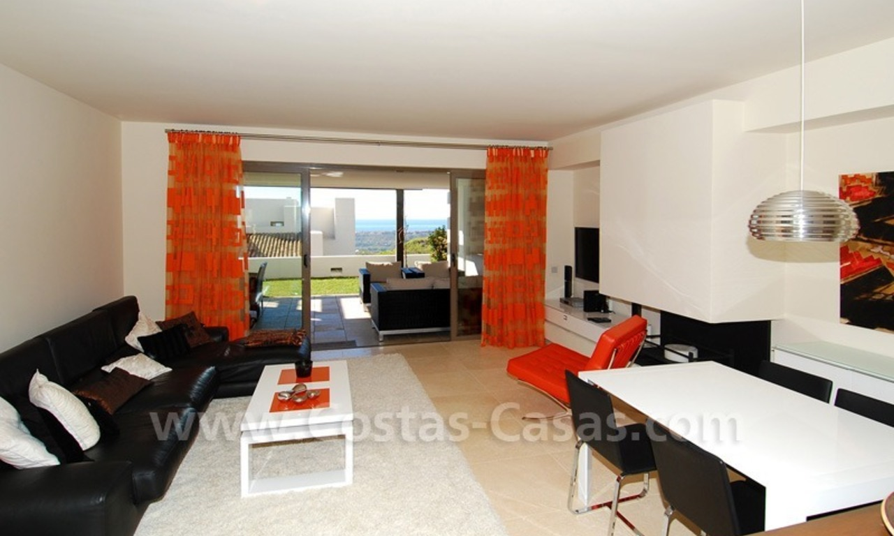Bargain! Modern style luxury apartment for sale, golf resort, Marbella - Benahavis 17