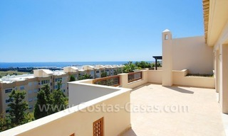 Luxury penthouse apartment for sale near Puerto Banus in Nueva Andalucia, Marbella 2