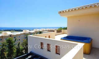 Luxury penthouse apartment for sale near Puerto Banus in Nueva Andalucia, Marbella 1
