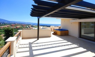 Luxury penthouse apartment for sale near Puerto Banus in Nueva Andalucia, Marbella 0