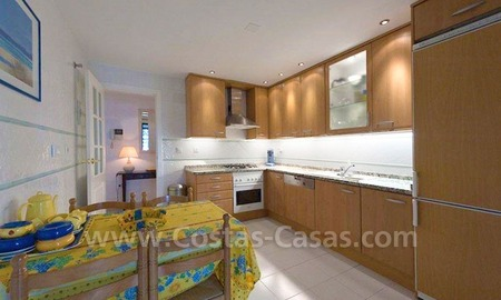 Beachside apartment for sale in Marbella 10
