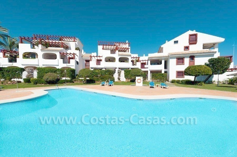 Beachside apartment for sale in Marbella