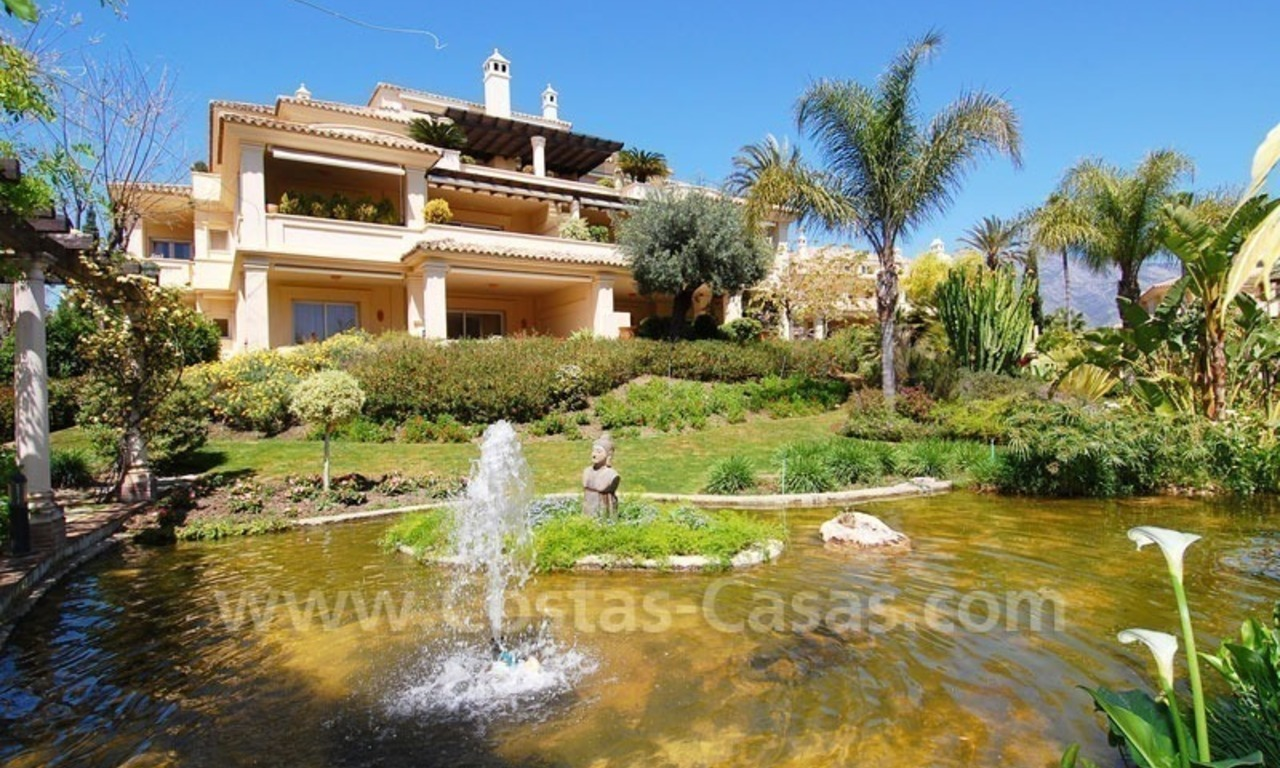 Spacious luxury apartment for sale in Nueva Andalucia, Marbella 0