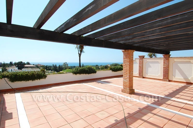 Exclusive penthouse apartment for sale on the Golden Mile in Marbella 6