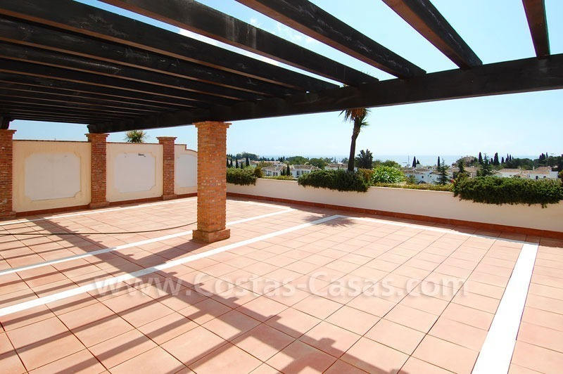 Exclusive penthouse apartment for sale on the Golden Mile in Marbella 7