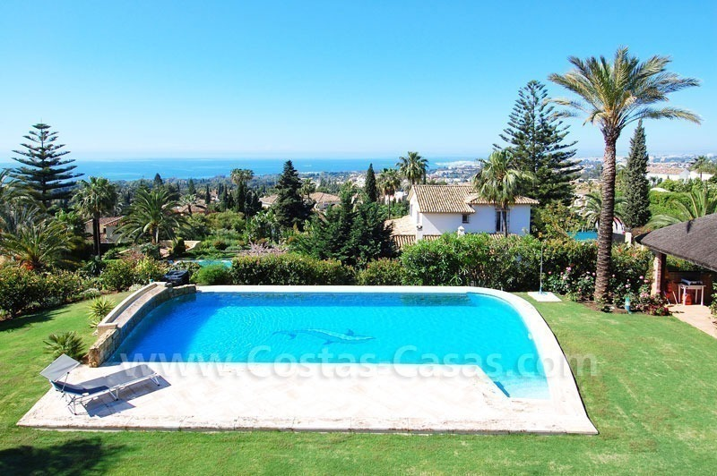 Bargain luxury villa for sale in Sierra Blanca, Marbella