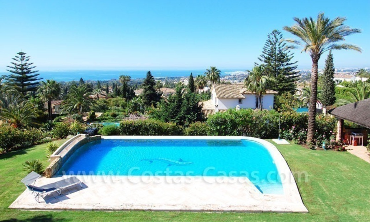 Bargain luxury villa for sale in Sierra Blanca, Marbella 0