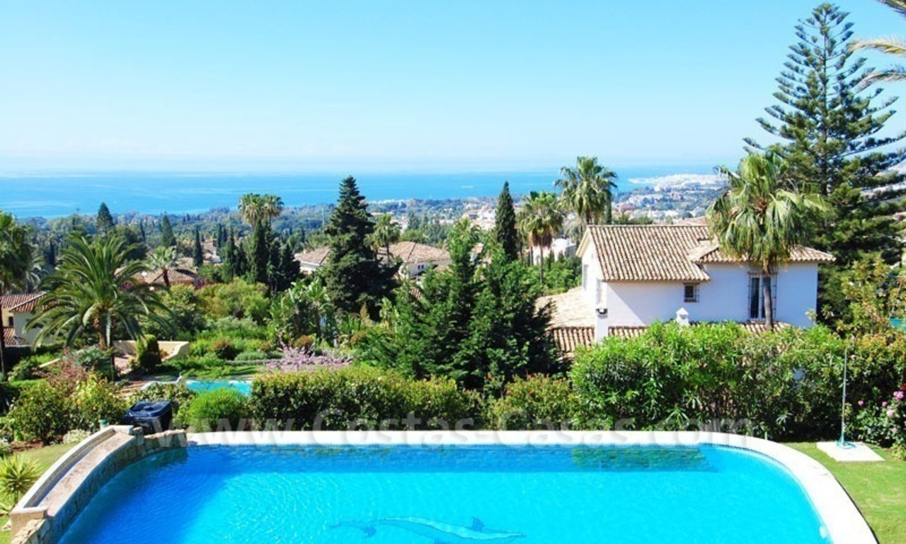 Bargain luxury villa for sale in Sierra Blanca, Marbella 1