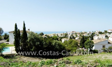 Bargain building plot for villa for sale in Mijas Costa near Marbella 1