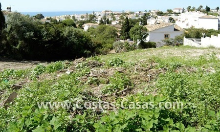 Bargain building plot for villa for sale in Mijas Costa near Marbella