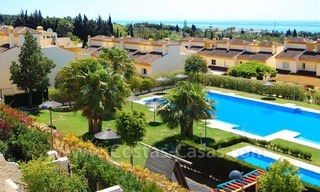 Bargain townhouses for sale on the Golden Mile in Marbella 1