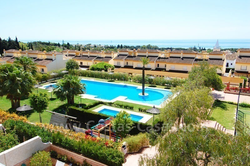 Bargain townhouses for sale on the Golden Mile in Marbella