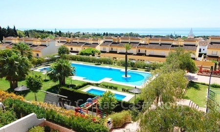 Bargain townhouses for sale on the Golden Mile in Marbella 0
