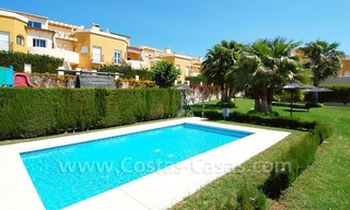 Bargain townhouses for sale on the Golden Mile in Marbella 28