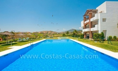 Ready to move in Bargain golf apartments and penthouses for sale in Marbella - Benahavis with golf and sea views 2
