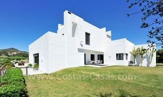 Exclusive modern villa to buy, golf course, Marbella – Benahavis 1