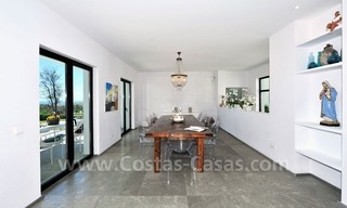 Exclusive modern villa to buy, golf course, Marbella – Benahavis 18
