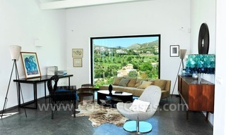 Exclusive modern villa to buy, golf course, Marbella – Benahavis 17