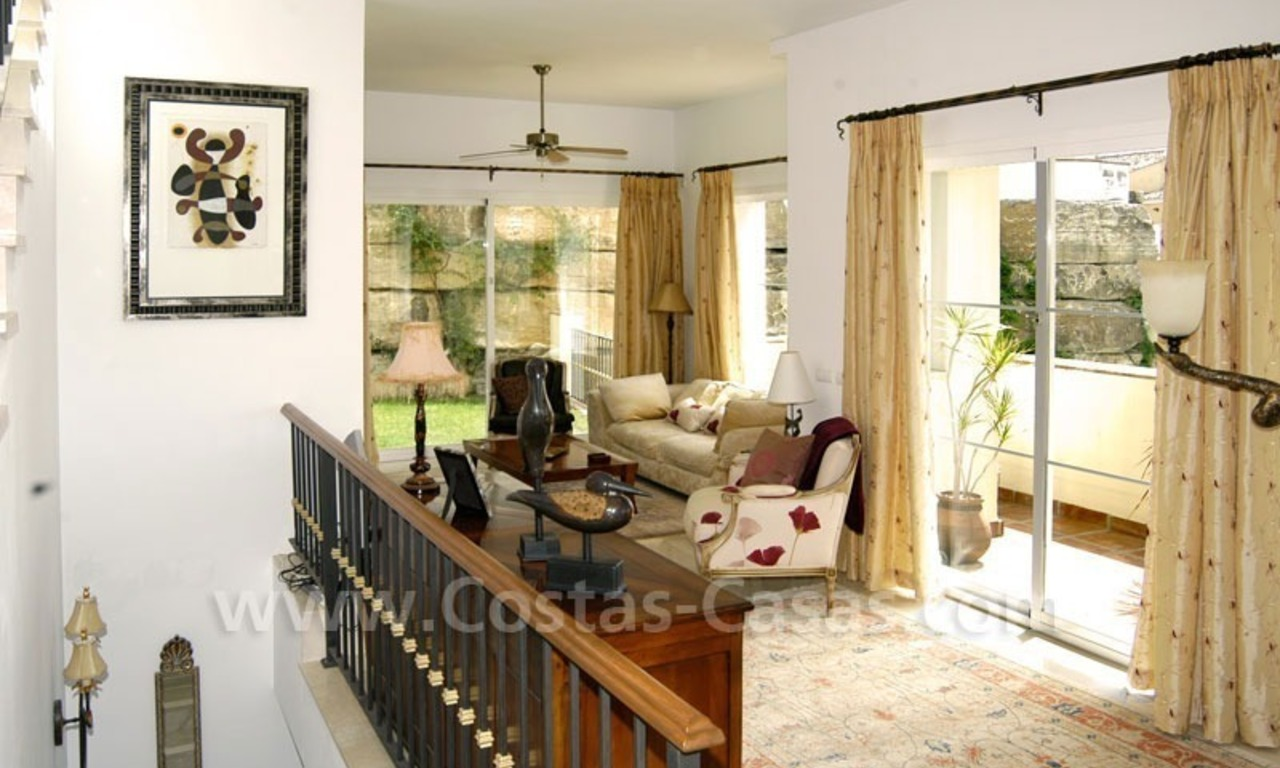 Bargain modern Andalusian style villa to buy in Marbella 15