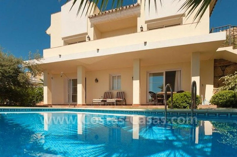 Bargain modern Andalusian style villa to buy in Marbella 9