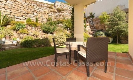 Bargain modern Andalusian style villa to buy in Marbella 12