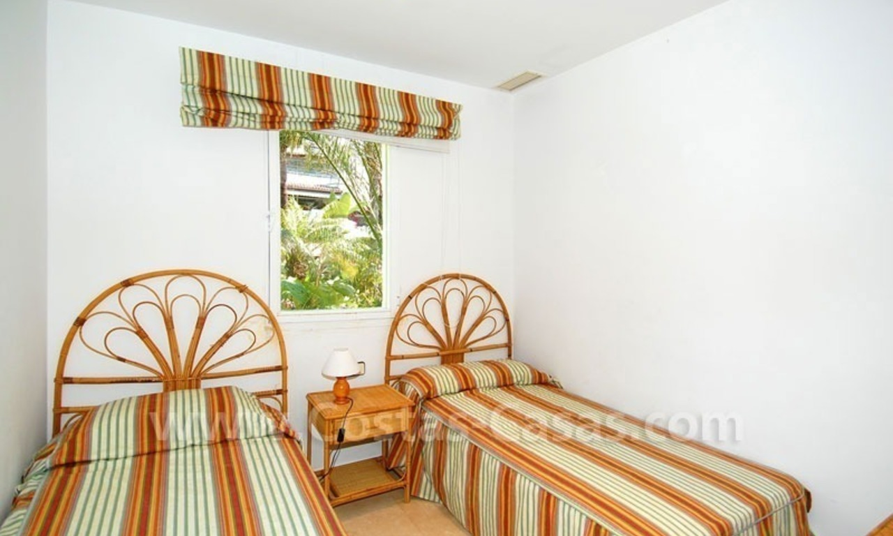 Spacious apartment for sale on the beachfront complex in Marbella on the Golden Mile 28