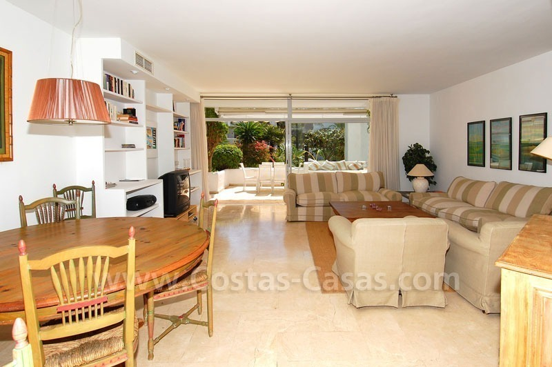 Spacious apartment for sale on the beachfront complex in Marbella on the Golden Mile 22