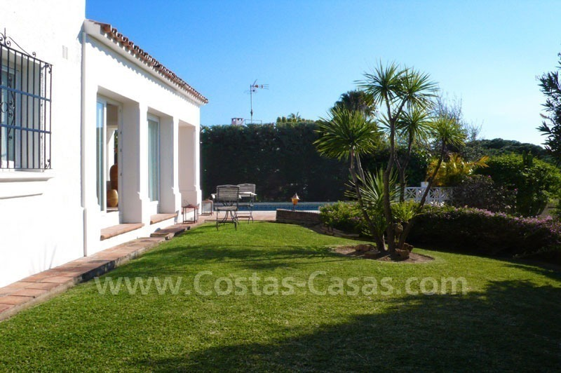 Bargain modern Andalusian style villa for sale in East of Marbella 7