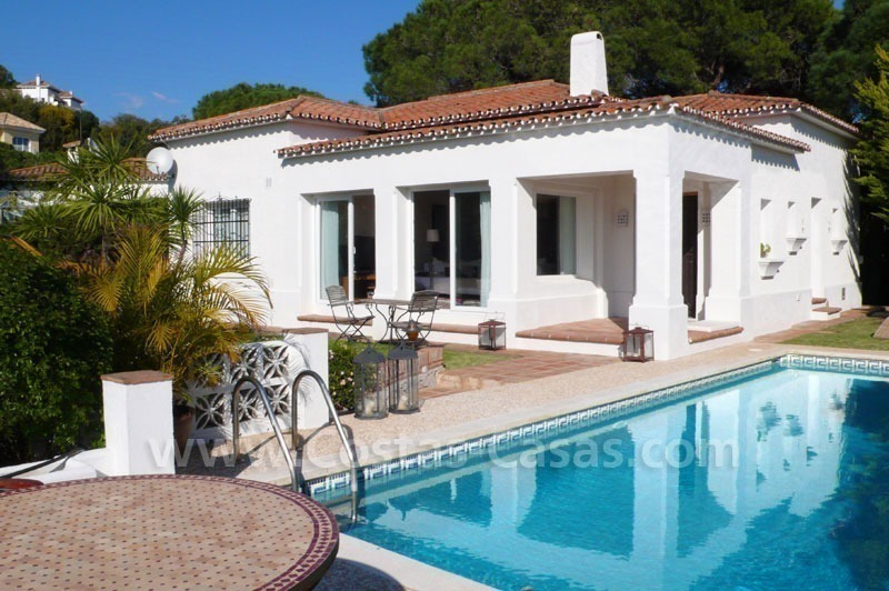 Bargain modern Andalusian style villa for sale in East of Marbella