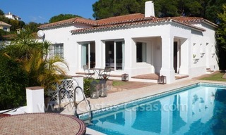 Bargain modern Andalusian style villa for sale in East of Marbella 0