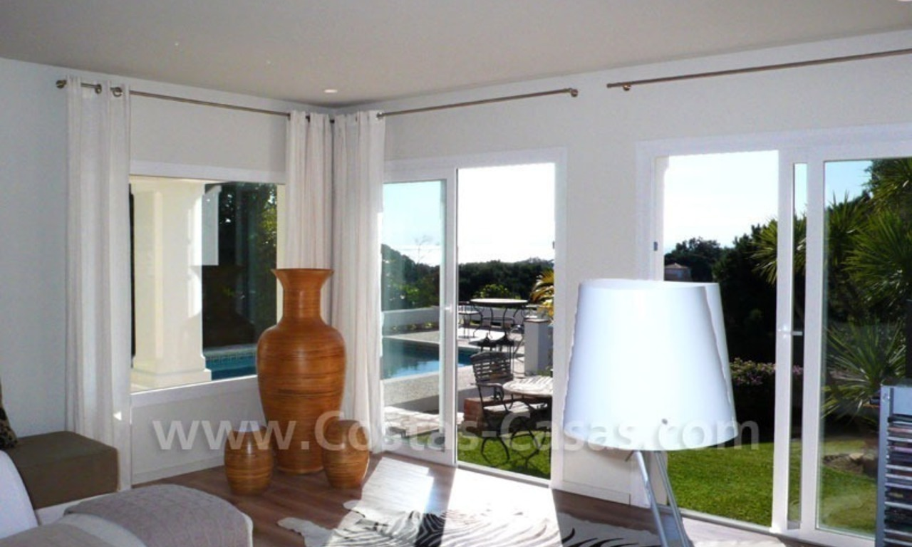 Bargain modern Andalusian style villa for sale in East of Marbella 14