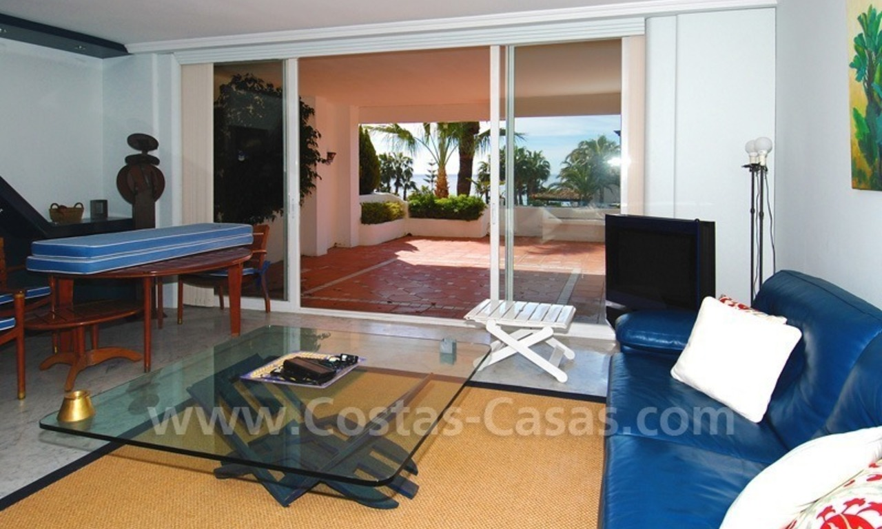 Spacious luxury apartment for sale on the beachfront complex in Puente Romano, Golden Mile – Marbella 8