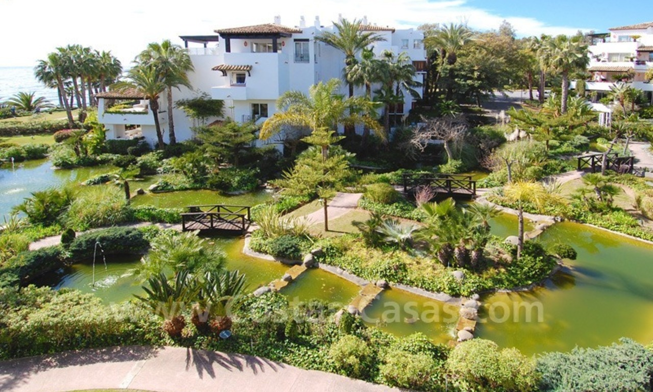 Spacious luxury apartment for sale on the beachfront complex in Puente Romano, Golden Mile – Marbella 2