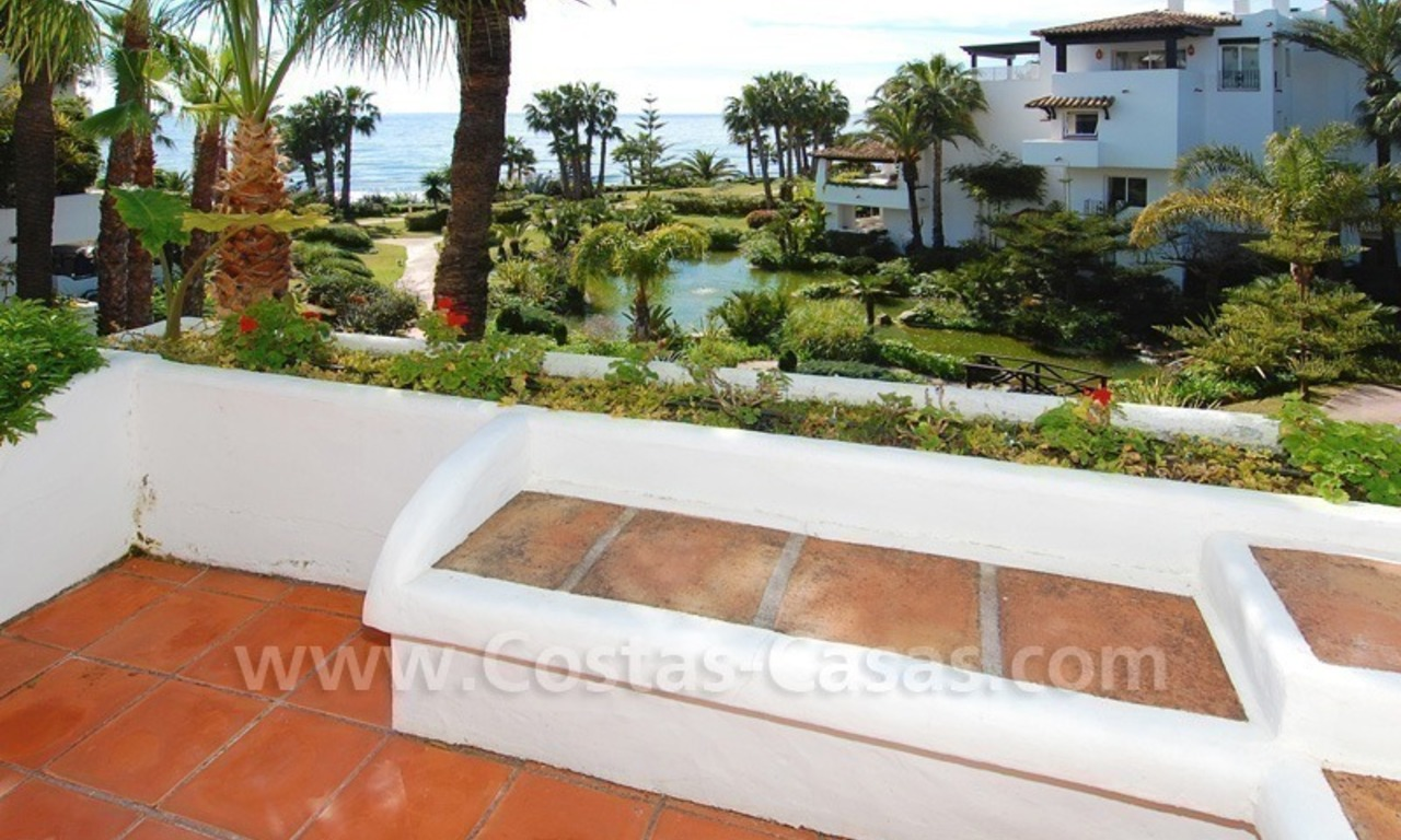 Spacious luxury apartment for sale on the beachfront complex in Puente Romano, Golden Mile – Marbella 5