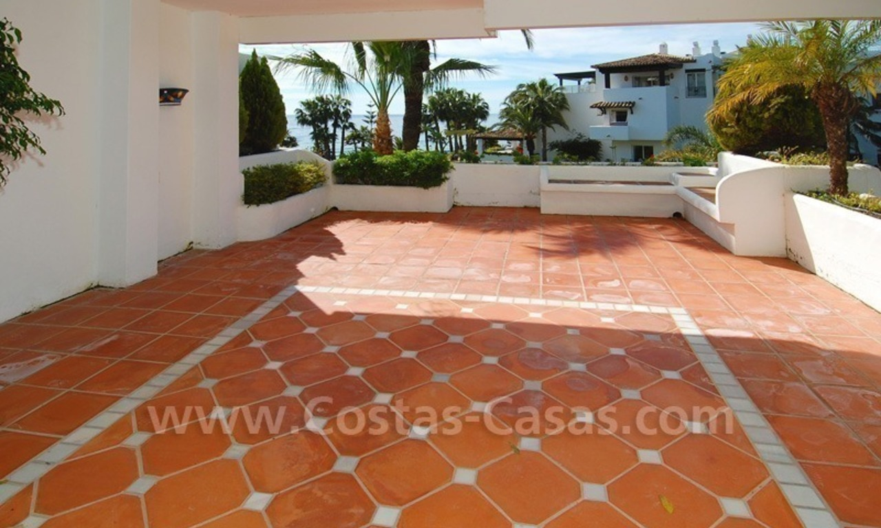Spacious luxury apartment for sale on the beachfront complex in Puente Romano, Golden Mile – Marbella 7
