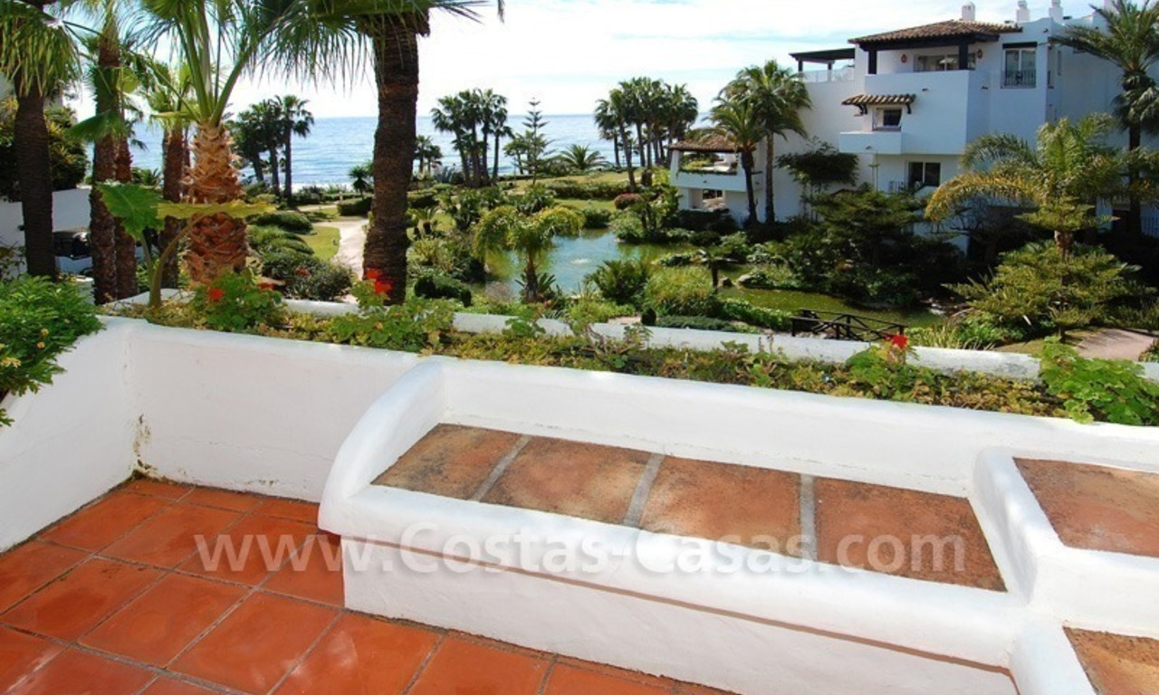 Spacious luxury apartment for sale on the beachfront complex in Puente Romano, Golden Mile – Marbella 4