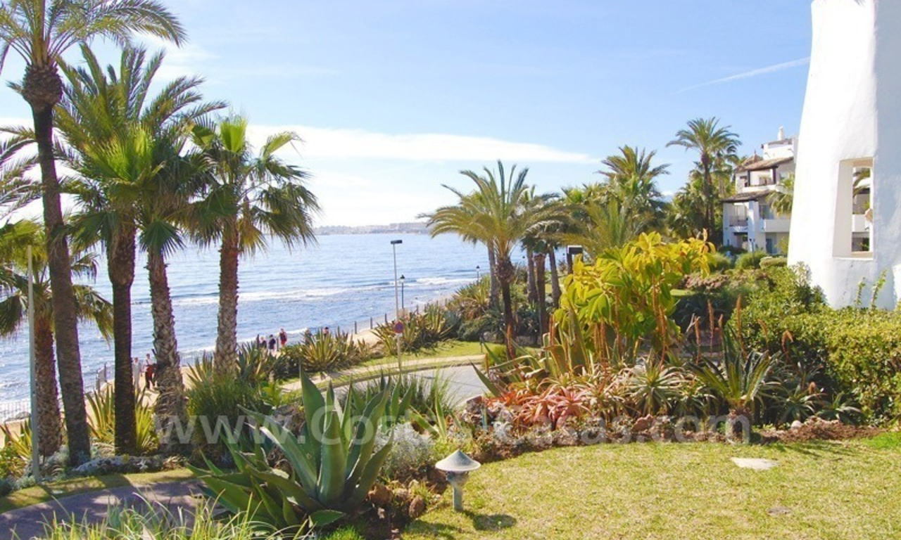 Spacious luxury apartment for sale on the beachfront complex in Puente Romano, Golden Mile – Marbella 11