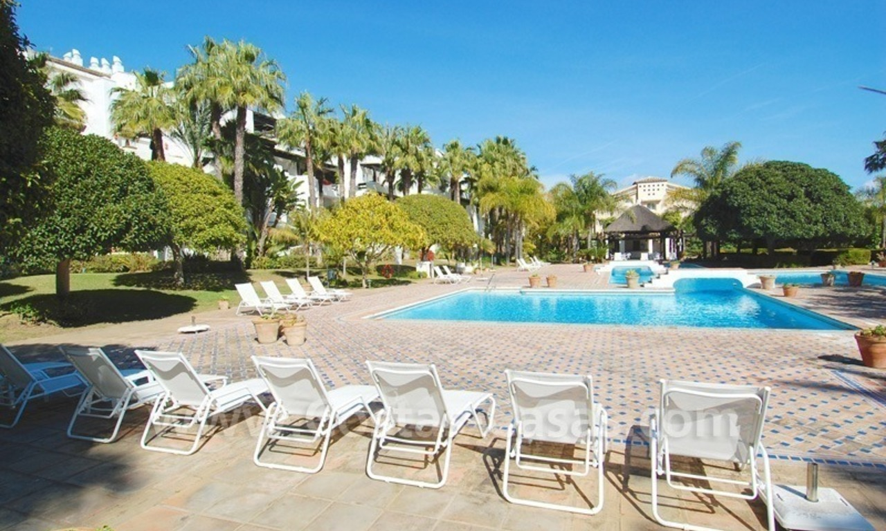 Spacious luxury apartment for sale on the beachfront complex in Puente Romano, Golden Mile – Marbella 25