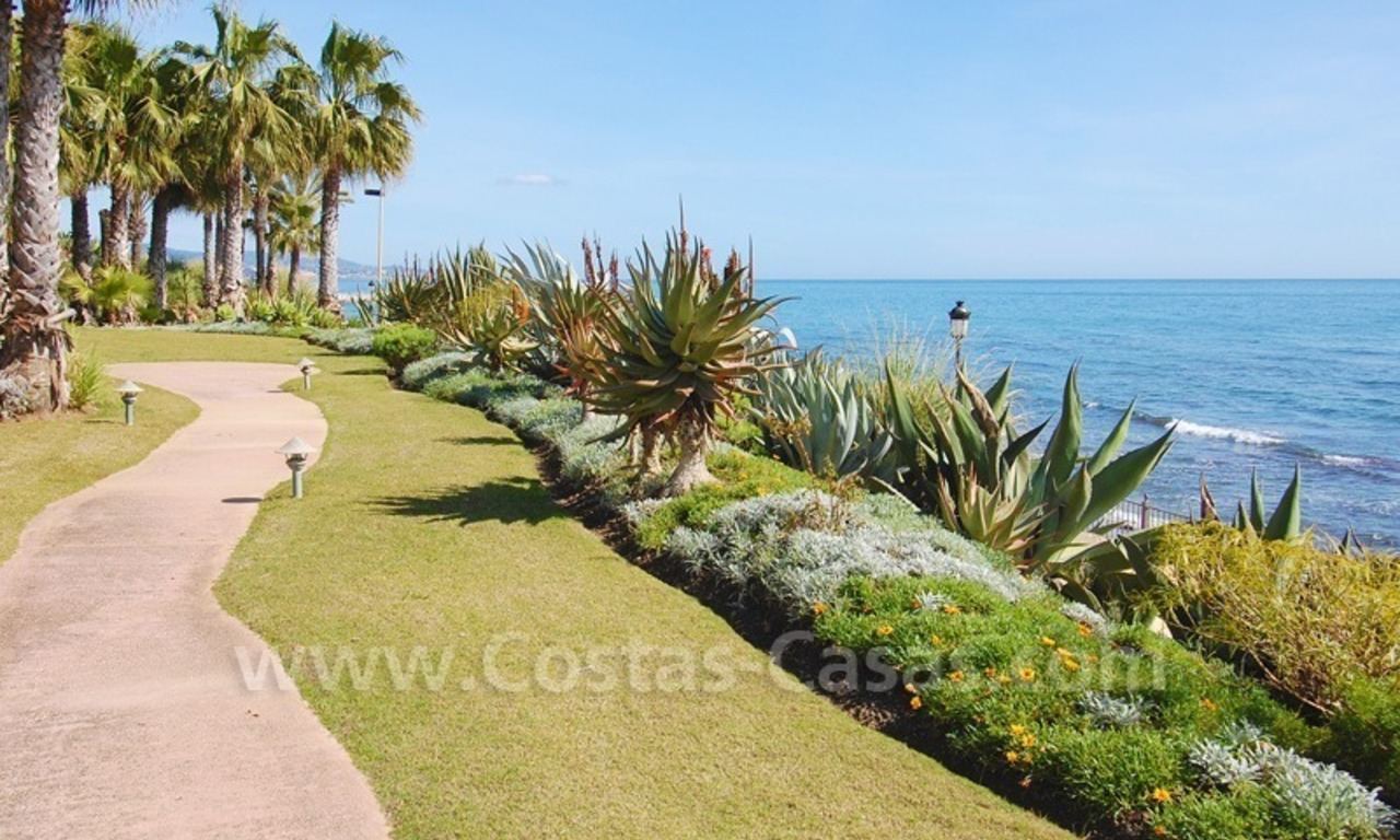 Spacious luxury apartment for sale on the beachfront complex in Puente Romano, Golden Mile – Marbella 17