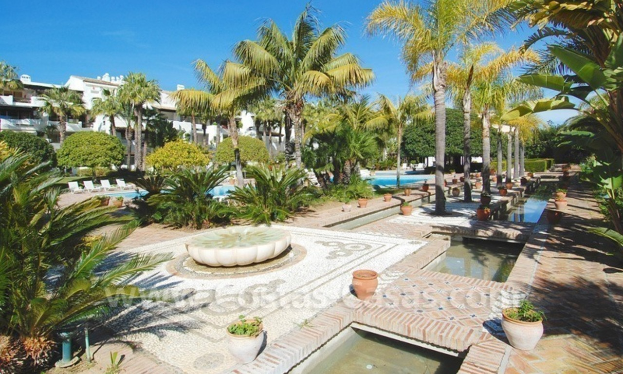 Spacious luxury apartment for sale on a frontline beach complex in Puente Romano, Golden Mile – Marbella 28